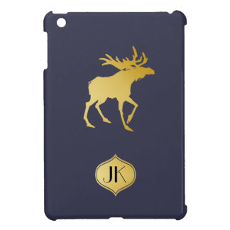 Elegantly Luxurious Gold Antler Deer iPad Mini Cover