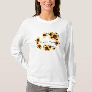 ElegantSunflower-Groom's Mom T-Shirt