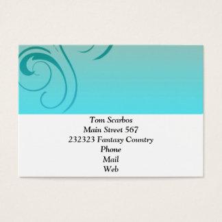 Eleganza 08 mint business card