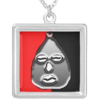 elegua silver plated necklace