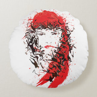 Elektra - Blood of her enemies Round Pillow