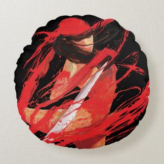 Elektra Fluidity Round Pillow