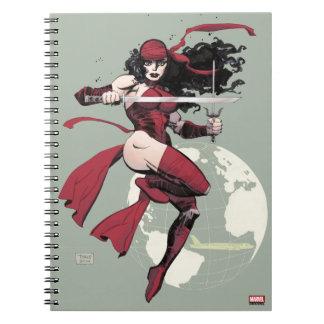 Elektra Traveling The World Notebook