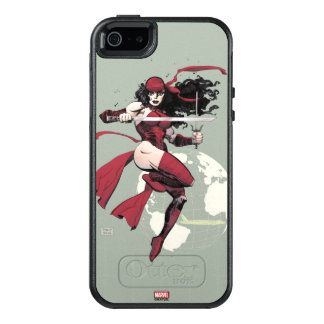 Elektra Traveling The World OtterBox iPhone 5/5s/SE Case