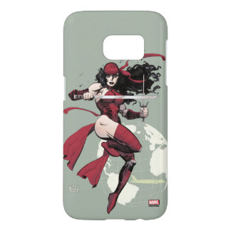Elektra Traveling The World Samsung Galaxy S7 Case