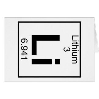 Element 003 - Li - Lithium (Full) Card