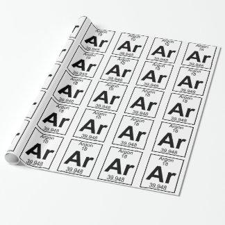 Element 018 - Ar - Argon (Full)