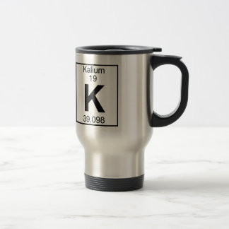 Element 019 - K - Kalium (Full) Travel Mug