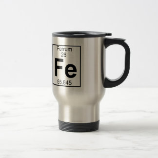 Element 026 - Fe - Ferrum (Full) Travel Mug