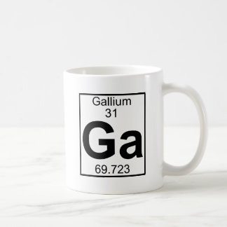 Element 031 - Ga - Gallium (Full) Coffee Mug