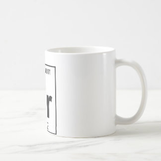 Element 038 - Sr - Strontium (Full) Coffee Mug