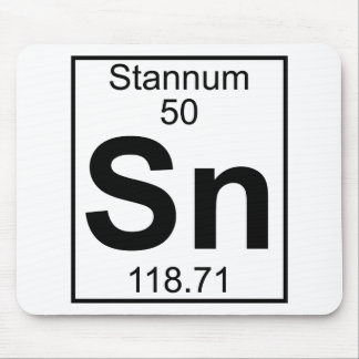 Element 050 - Sn - Stannum (Full) Mouse Pad