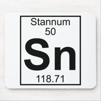 Element 050 - Sn - Stannum (Full) Mouse Pad
