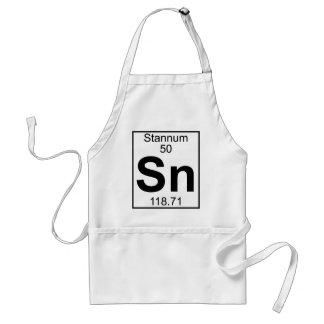 Element 050 - Sn - Stannum (Full) Standard Apron