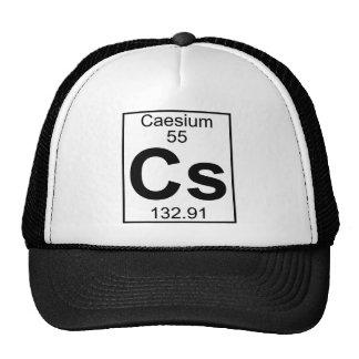 Element 055 - Cs - Caesium (Full) Trucker Hat