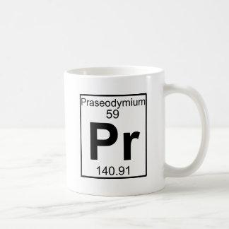 Element 059 - Pr - Praseodymium (Full) Coffee Mug