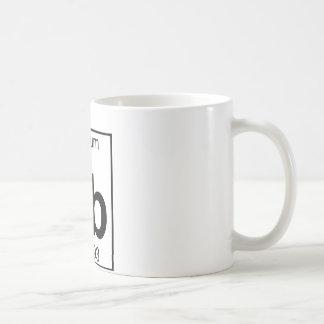 Element 065 - Tb - Terbium (Full) Basic White Mug