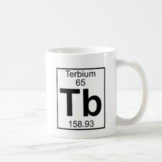 Element 065 - Tb - Terbium (Full) Classic White Coffee Mug
