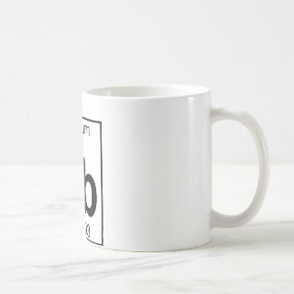 Element 065 - Tb - Terbium (Full) Coffee Mug