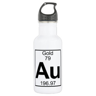 Element 079 - Au - Gold (Full) 532 Ml Water Bottle