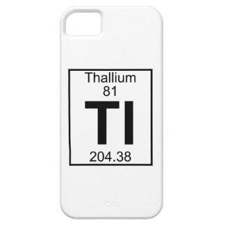Element 081 - Tl - Thallium (Full) iPhone 5 Case