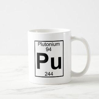 Element 094 - Pu - Plutonium (Full) Coffee Mug