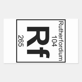 Element 104 - Rf - Rutherfordium (Full)