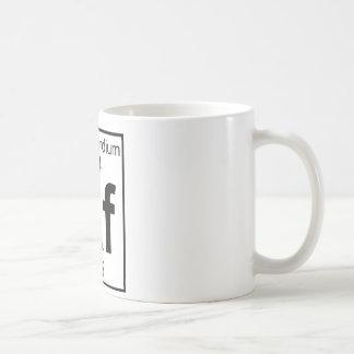 Element 104 - Rf - Rutherfordium (Full) Coffee Mug