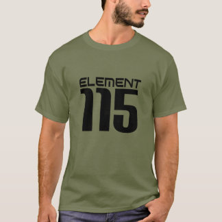 Element 115 (black) T-Shirt