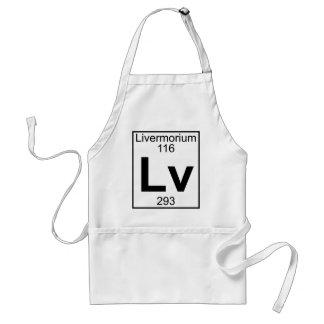 Element 116 - Lv - Livermorium (Full) Aprons