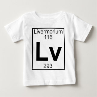 Element 116 - Lv - Livermorium (Full) Baby T-Shirt