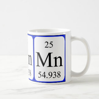 Element 25 white mug - Manganese