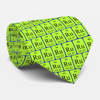 Element 44 tie - Ruthenium