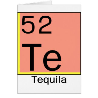 Element 52: Tequila Card