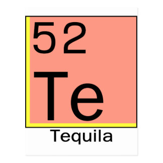 Element 52: Tequila Postcard