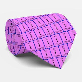 Element 53 tie - Iodine