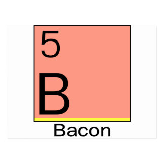 Element 5: Bacon Postcard