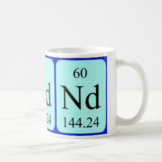 Element 60 mug - Neodymium