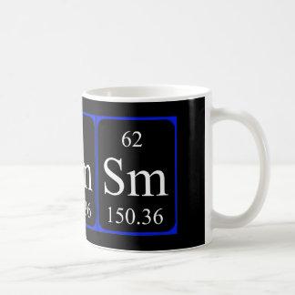 Element 62 mug - Samarium