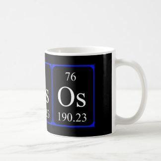 Element 76 mug - Osmium