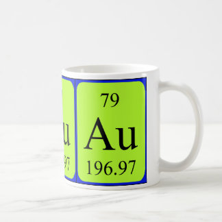 Element 79 mug - Gold