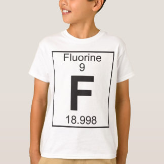 Element   9 -  f (fluorine) T-Shirt