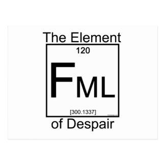 Element FML Postcard