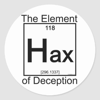 Element HAX Classic Round Sticker