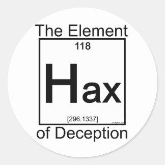 Element HAX Round Sticker