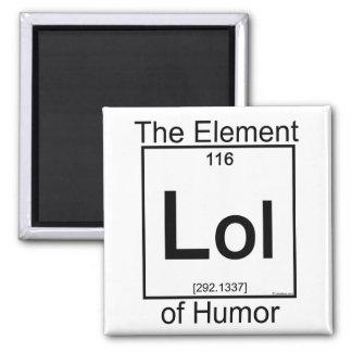 Element LOL Square Magnet