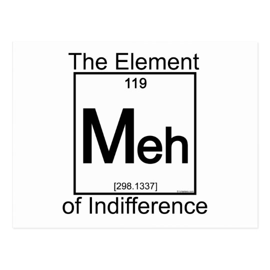 Element MEH Postcard