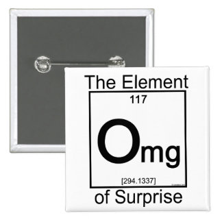 Element OMG 2 Inch Square Button