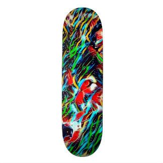 Element Spirit Wolf Indie Art Custom Pro Board Skate Board Decks