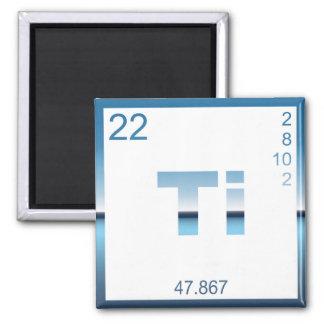 Element titanium titanium magnet